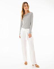 197ba3d0e7488 Imagen para Pantalón para Mujer Aloc Blanco de Gef