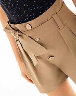 a3c41264f2a04 Short para Mujer Tope Verde Militar.  79.900. Imagen para Short para Mujer  Nupo Café de Gef