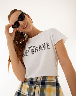 58b726b38 Imagen para Camiseta para Mujer Qogu Blanca de Gef