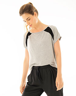 08675b2e42 Imagen para Camiseta para Mujer Metru Tshirt Gris Jaspe de Gef