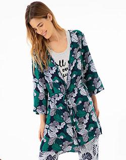 7222c6b89 Imagen para Pijama para Mujer Rege Azul Oscura de Gef
