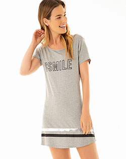 88c5c9a8a Imagen para Pijama para Mujer Sehe Gris Jaspe de Gef
