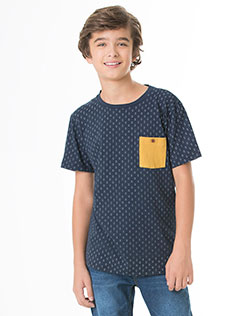 Camiseta Juvenil Masculina Brook Jr
