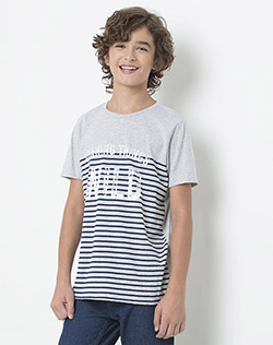 Camiseta Juvenil Masculina New Pacific