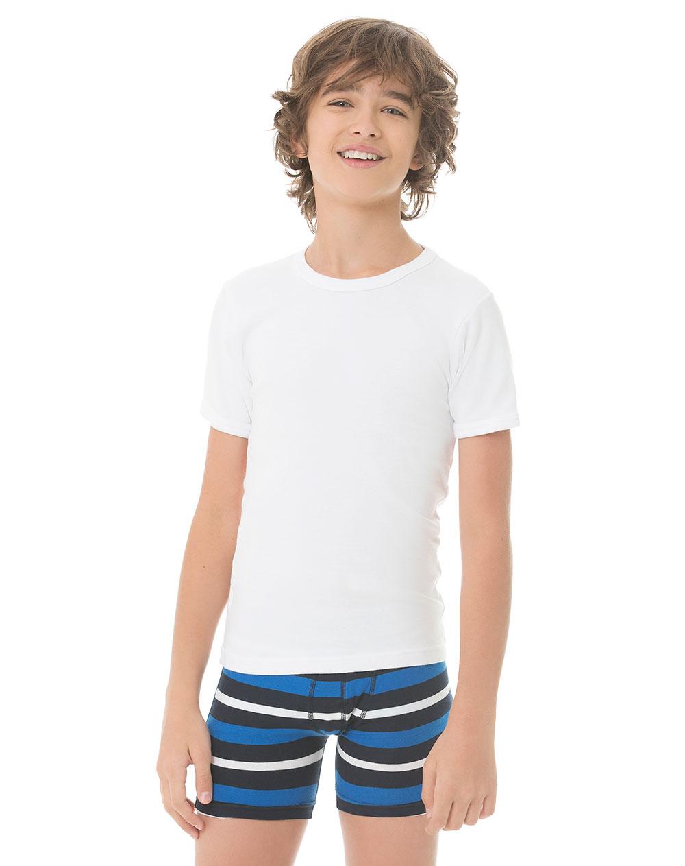 8a798958b Imagen para Camiseta para Niños Hercules Jr Alg Blanca de Gef