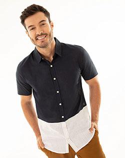 693cb8d52f3c3 Imagen para Camisa para Hombre Iwir Blanca de Gef