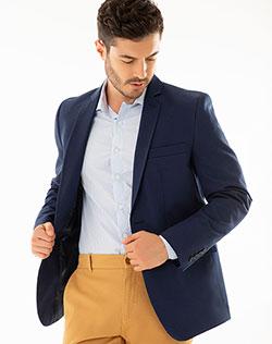 a50470f163459 Imagen para Blazer para Hombre Azim Azul de Gef