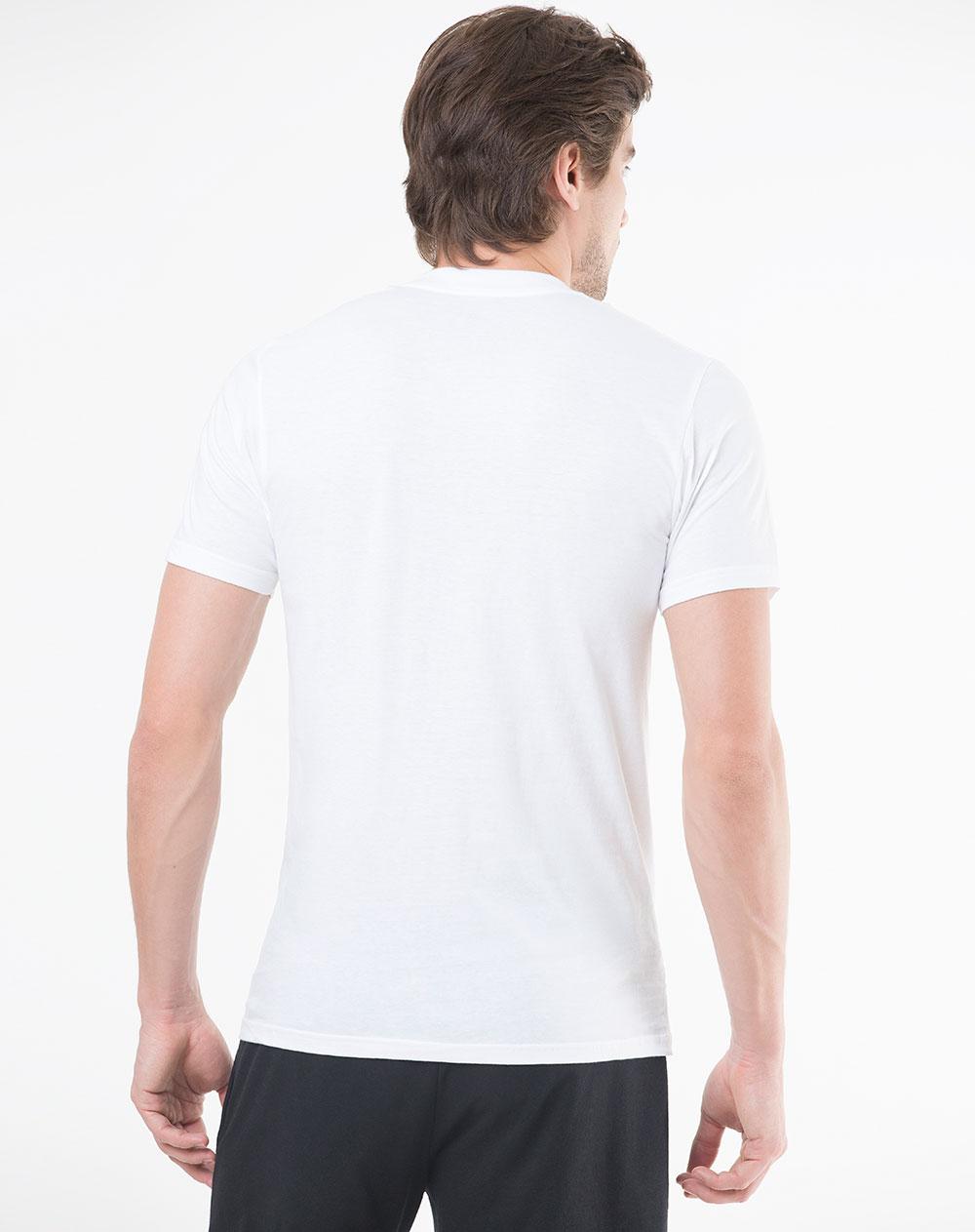 Hombre De Camisetas Juno Gef Blanca Trío Para LSzqVGjpUM