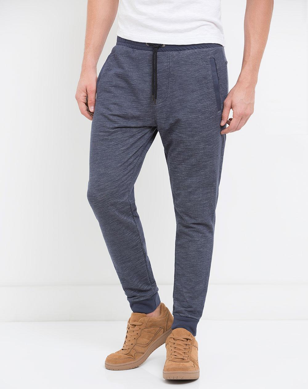 585236d6b1e30 Pantalón Sudadera para Hombre Krosh Azul Gef