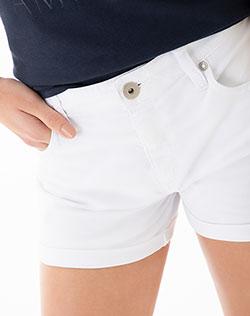 7680bd8101628 Imagen para Short para Mujer Super Star Blanco de Gef