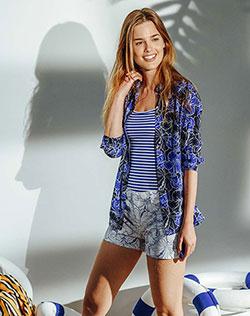 8485f8497b0d3 Imagen para Short para Mujer Tamara 2 Azul Eléctrico de Gef