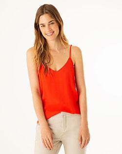 aa6b985aa Imagen para Camisa para Mujer Linell Roja de Gef