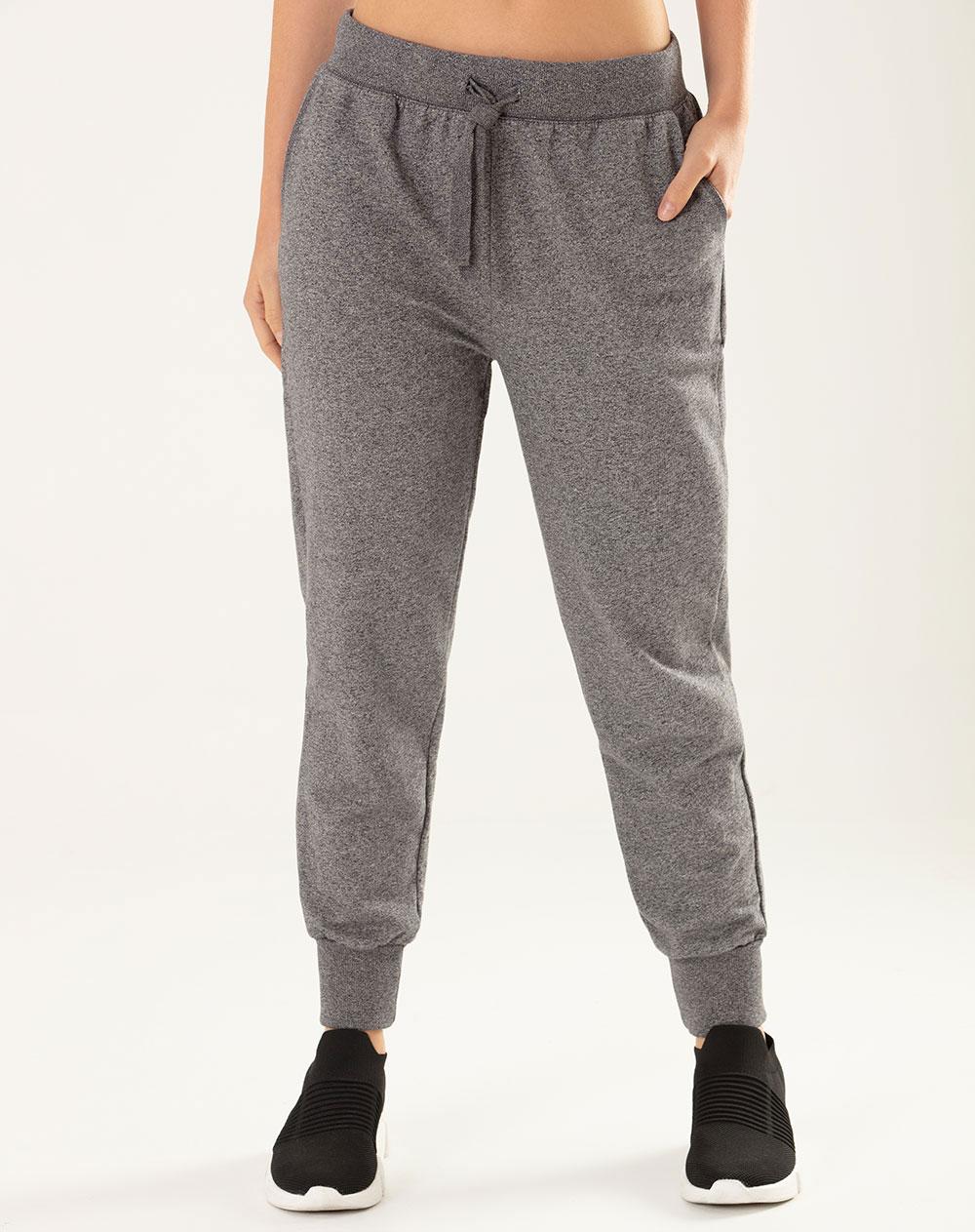 venta caliente online 56005 786de Pantalón para Mujer Abicus Gris Heather Mock Twist Gef