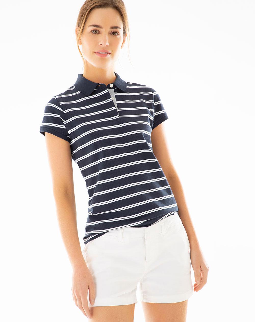 c68c3cdf2 Imagen para Camiseta Polo para Mujer Musset Monroe Blue de Gef